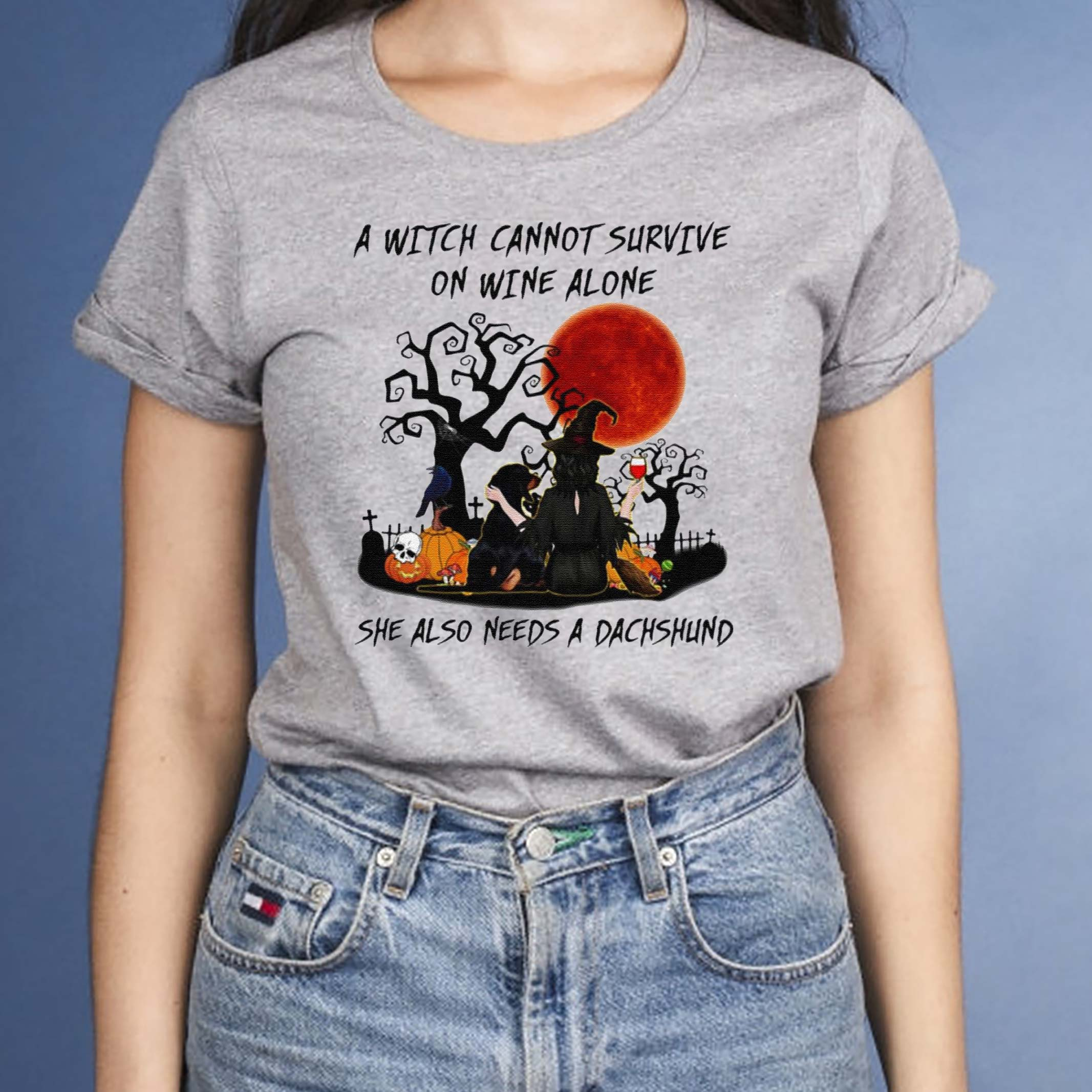 A-Witch-Cannot-Survive-On-Wine-Alone-She-Also-Needs-A-Shih-Tzu-Halloween-T-Shirt