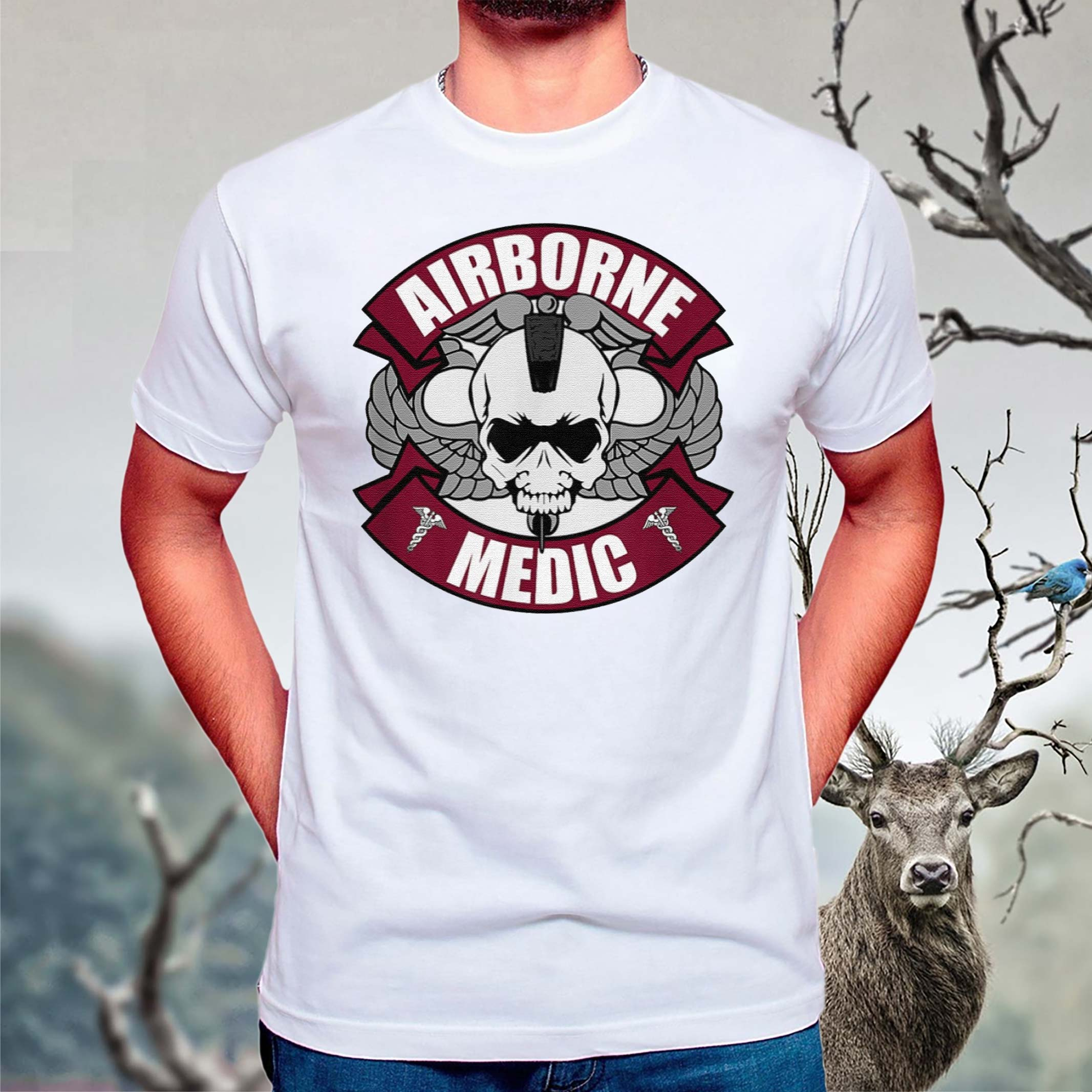 Airborne-Medic-T-Shirt