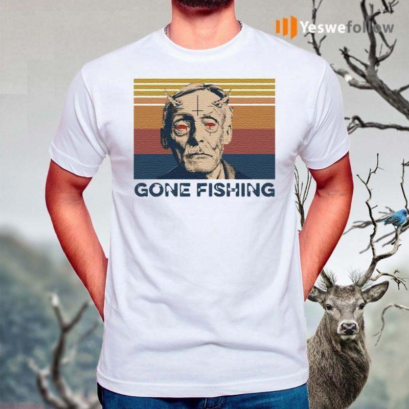 Albert-Fish-Gone-Fishing-T-Shirt
