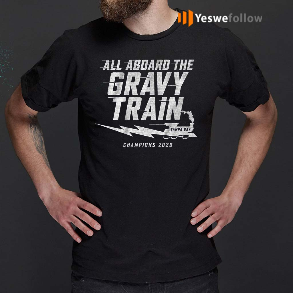 All-aboard-the-Gravy-Train-Champions-2020-T-Shirt