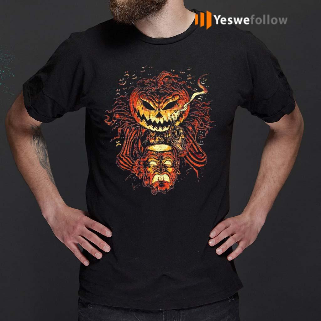 Alternative-Universe-Halloween-Scary-Pumpkin-Head-Lantern-T-Shirt
