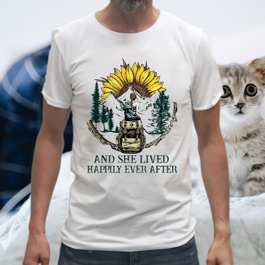 And She Lived Happily Ever After T-Shirts