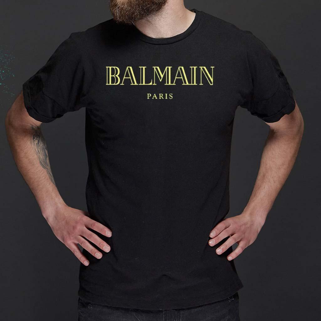 Balmain-Paris-T-Shirts