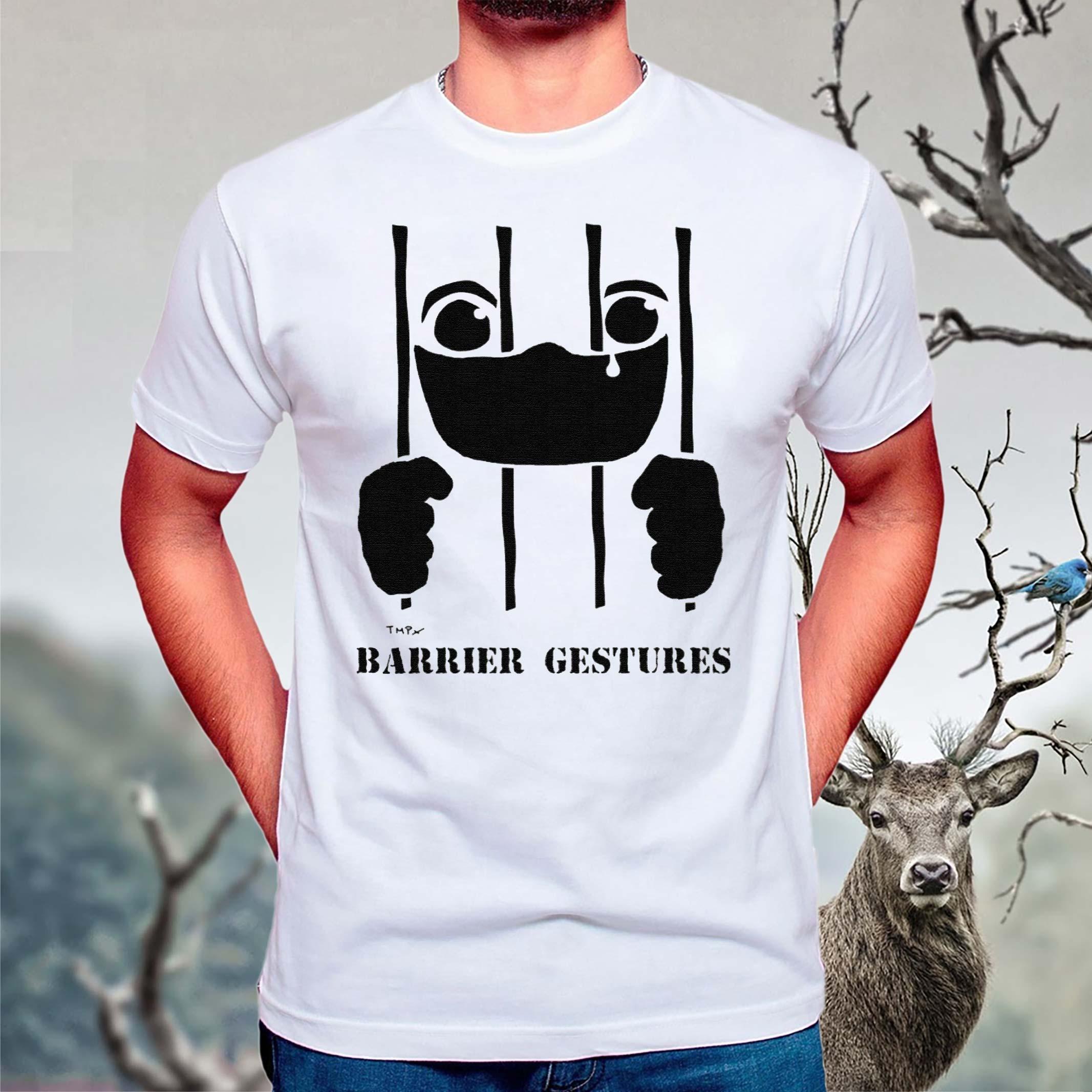 Barrier-Gestures-covid-19-coronavirus-T-Shirts