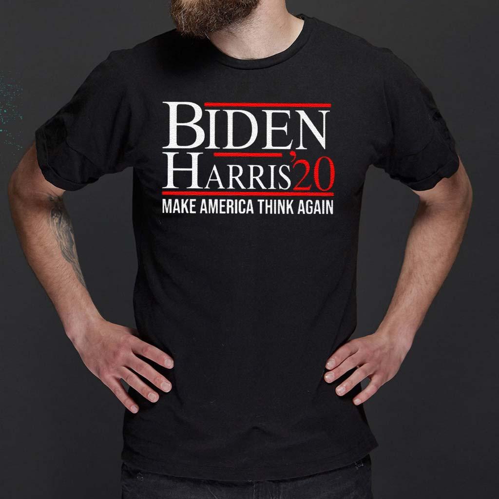 Biden-Harris-2020-Make-America-Think-Again-Shirt