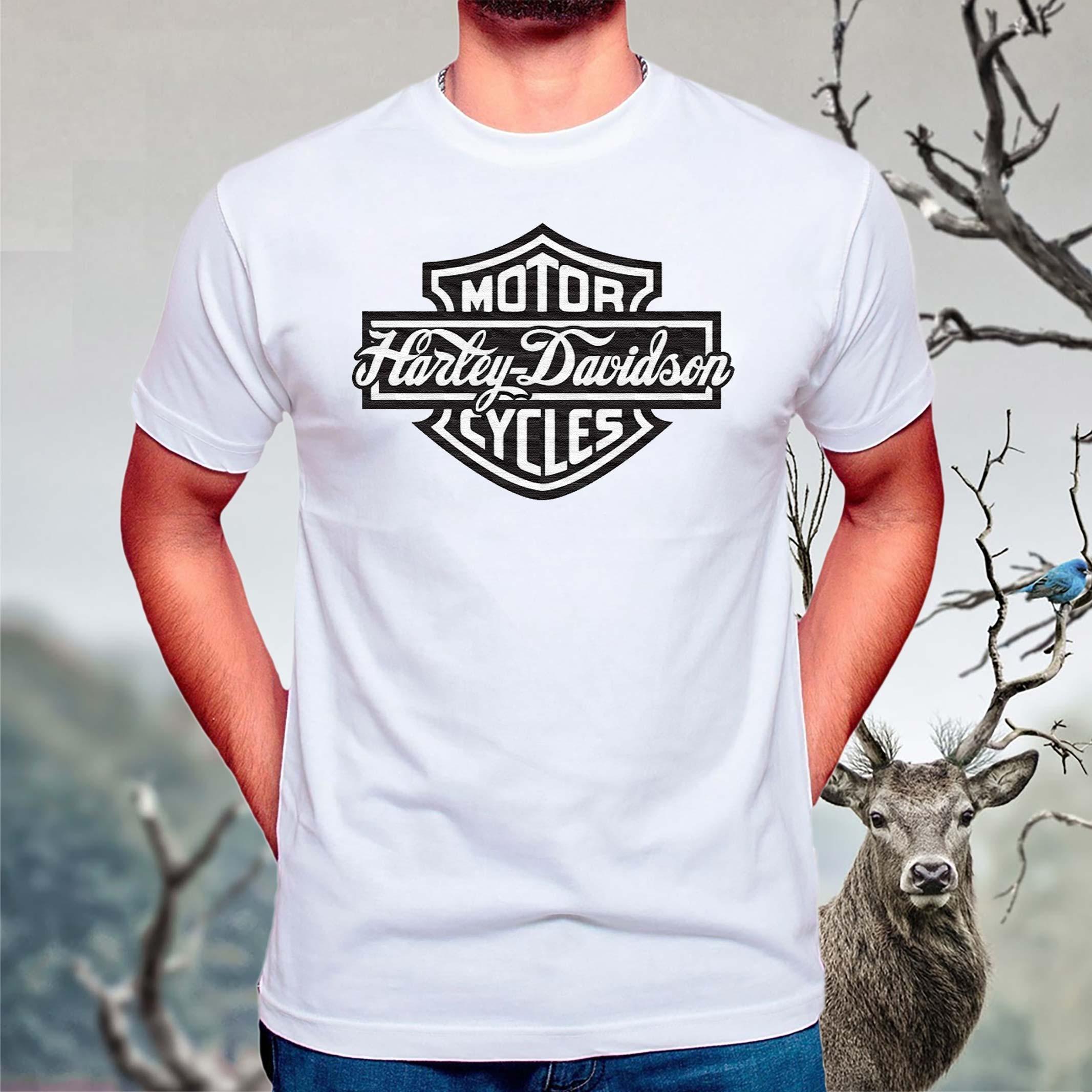 Biker-Club-Harley-Davidson-T-Shirt