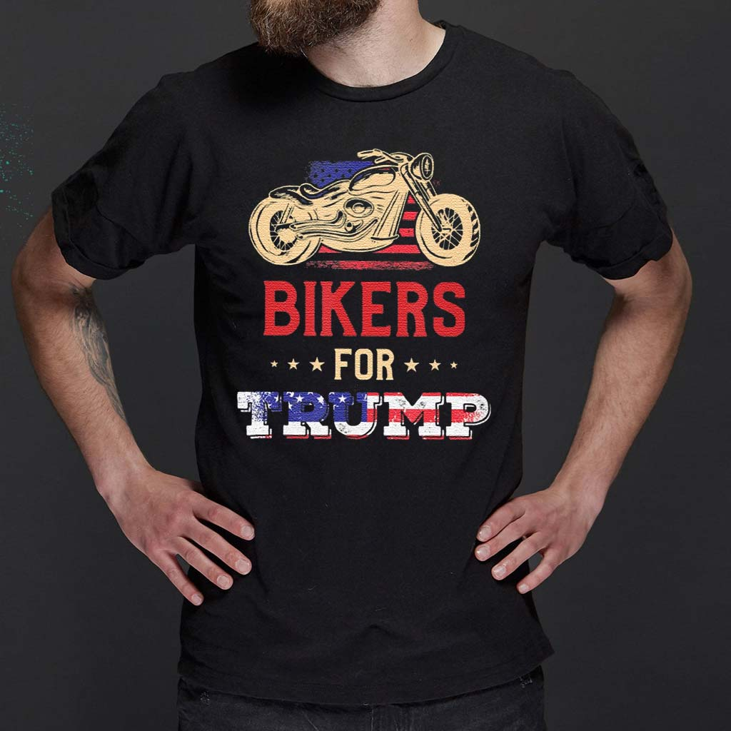 Bikers-For-Trump-Donald-Trump-Supporter-Classic-T-Shirt