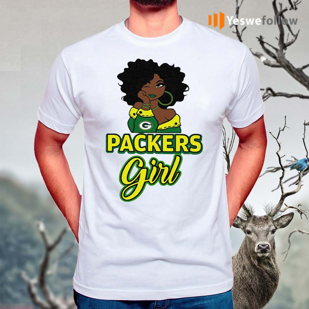 Black-Girl-Green-Bay-Packer-Shirts