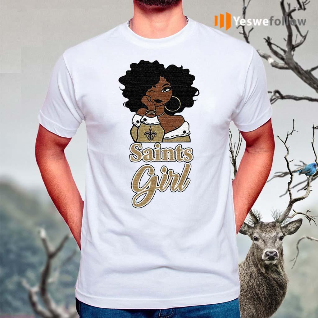 Black-Girl-Oklahoma-Saints-Shirt
