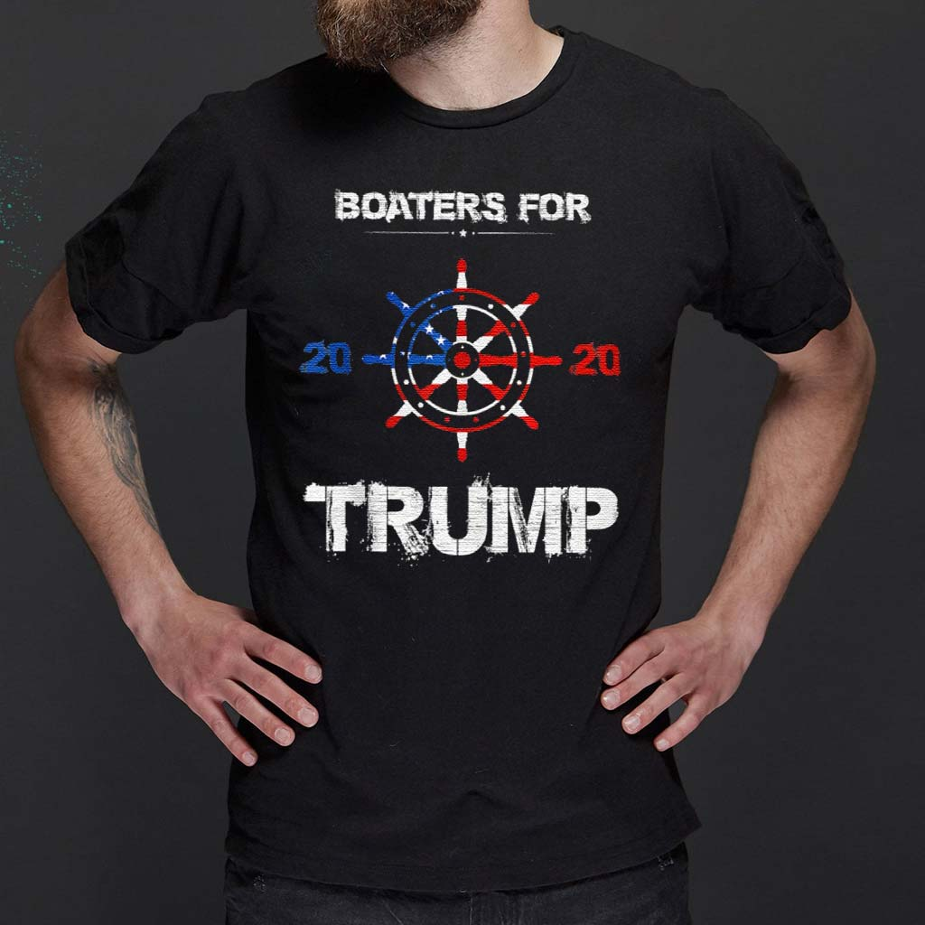 Boaters-For-Trump-2020-Election-Vintage-Shirt