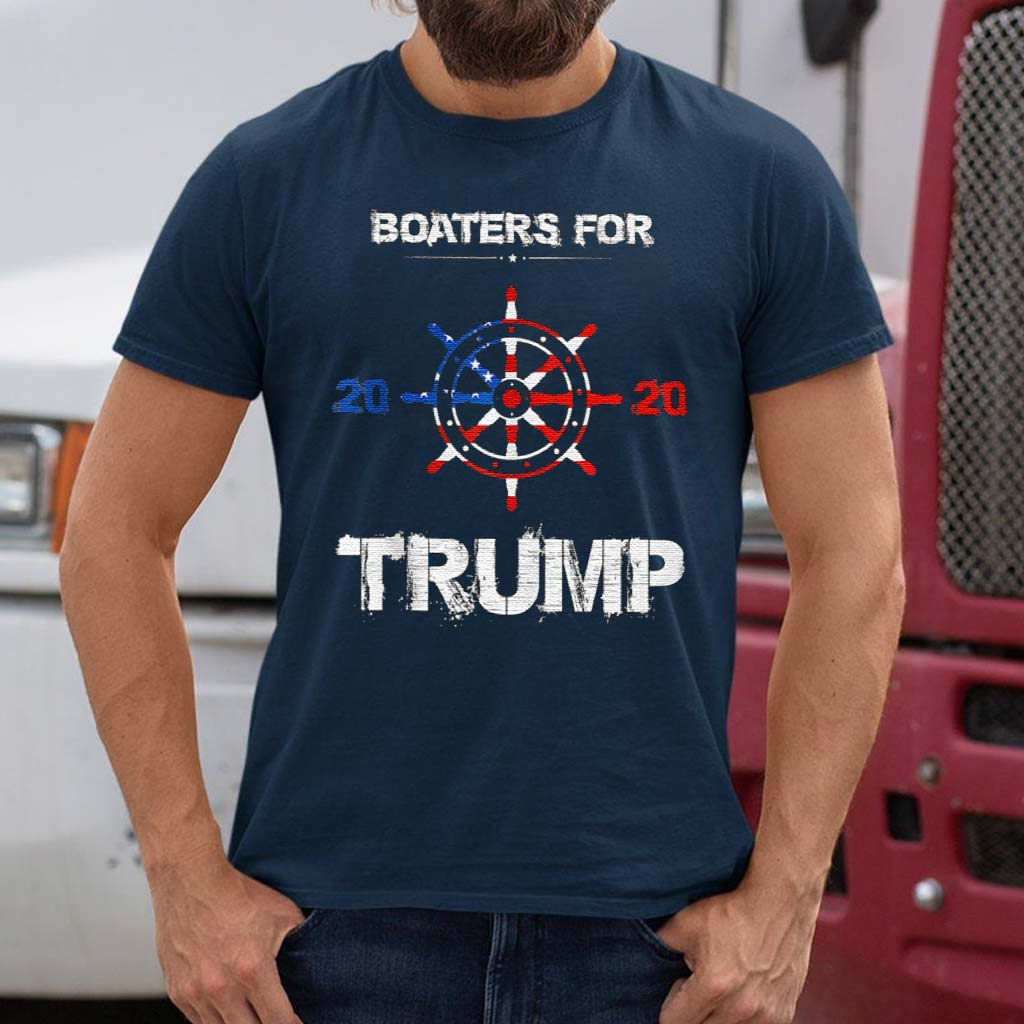 Boaters-For-Trump-2020-Election-Vintage-Shirts