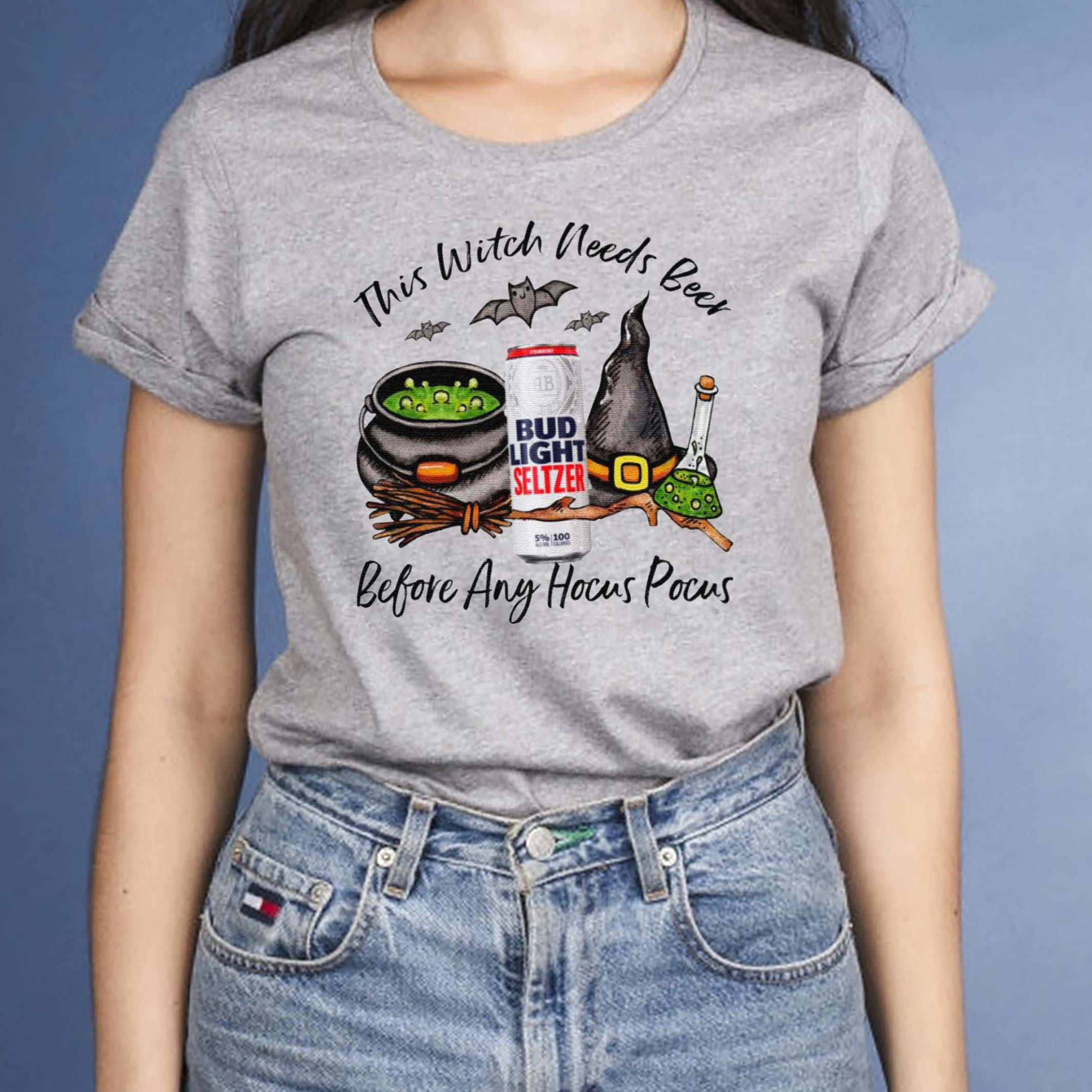 Bud-Light-Seltzer-Strawberry-Can-This-Witch-Needs-Beer-Before-Any-Hocus-Pocus-T-Shirt