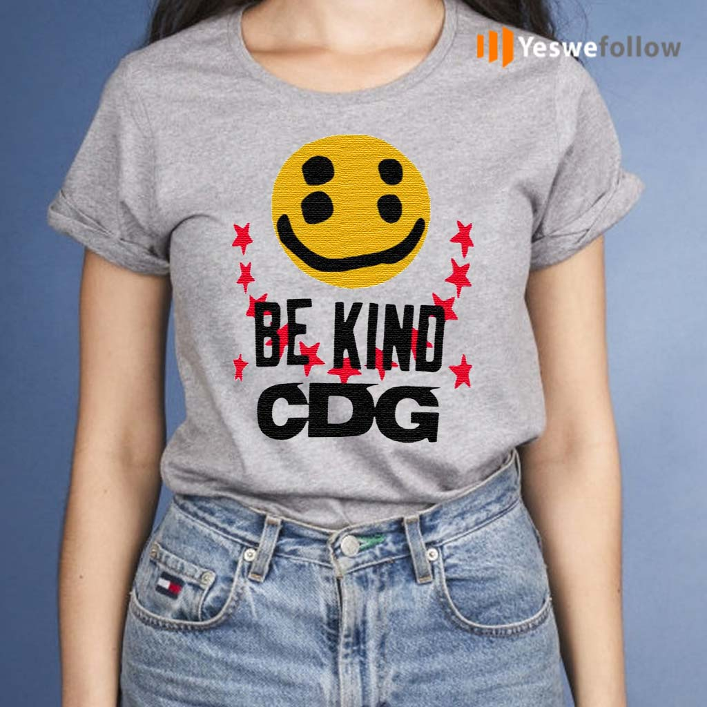 CDG-Be-Kind-T-Shirt