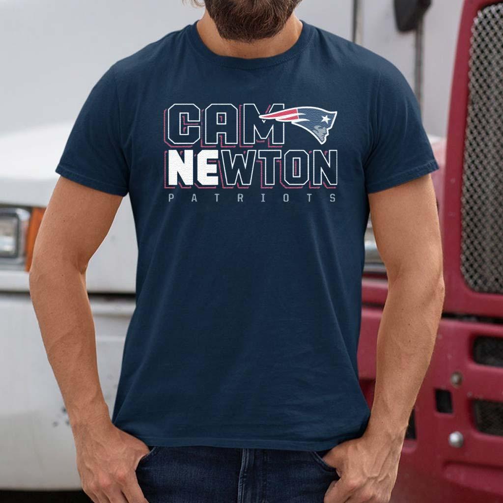 Cam-Newton-New-England-Patriots-T-Shirts