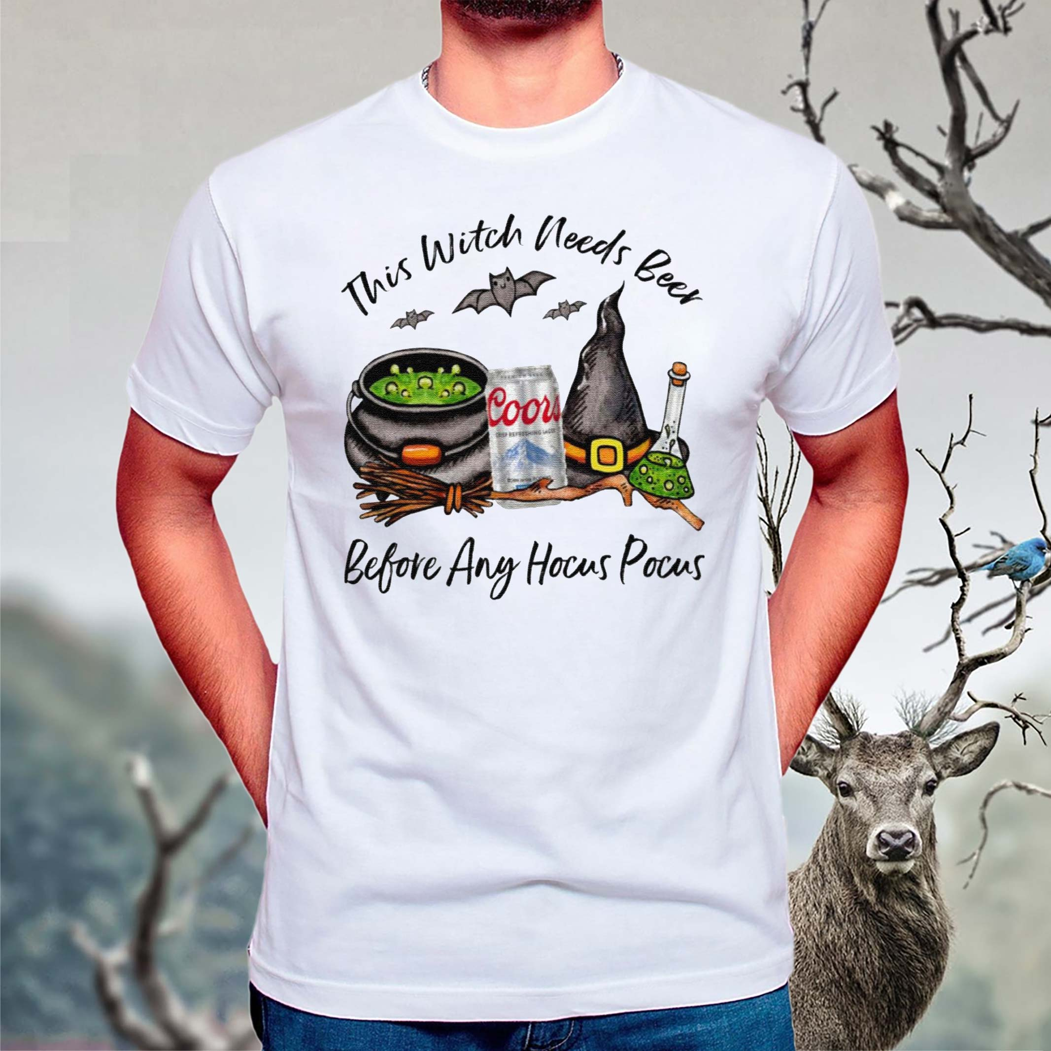 Coors-Lager-Can-This-Witch-Needs-Beer-Before-Any-Hocus-Pocus-T-Shirt