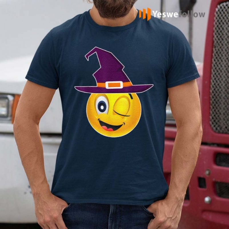 Cute-Emoji-Face-Funny-Yellow-Group-Halloween-Costume-shirts