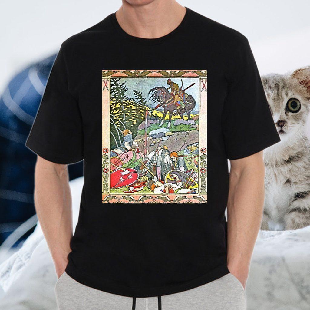 Fantasy Poster 4 Art Nouveau T-Shirts