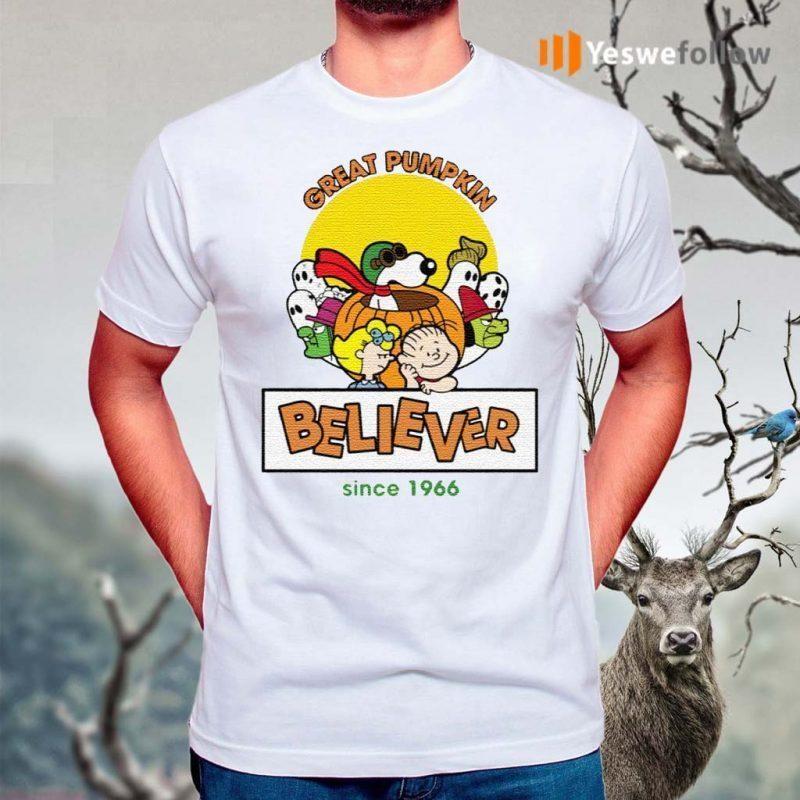 Great-Pumpkin-Believer-Happy-Halloween-Snoopy-T-Shirts