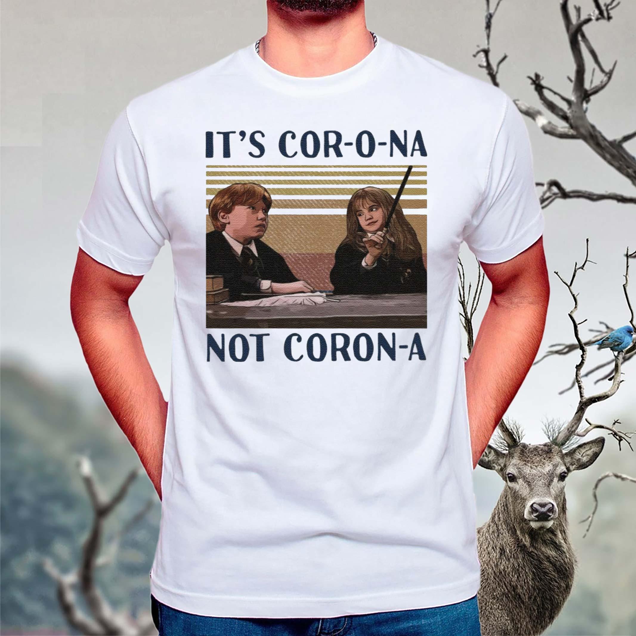 Hermione-It's-Corona-not-Corona-shirts