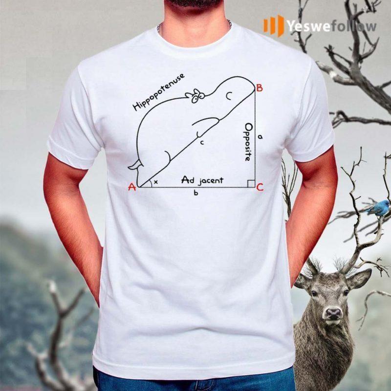 Hippopotenuse-Math-Geometry-Shirts