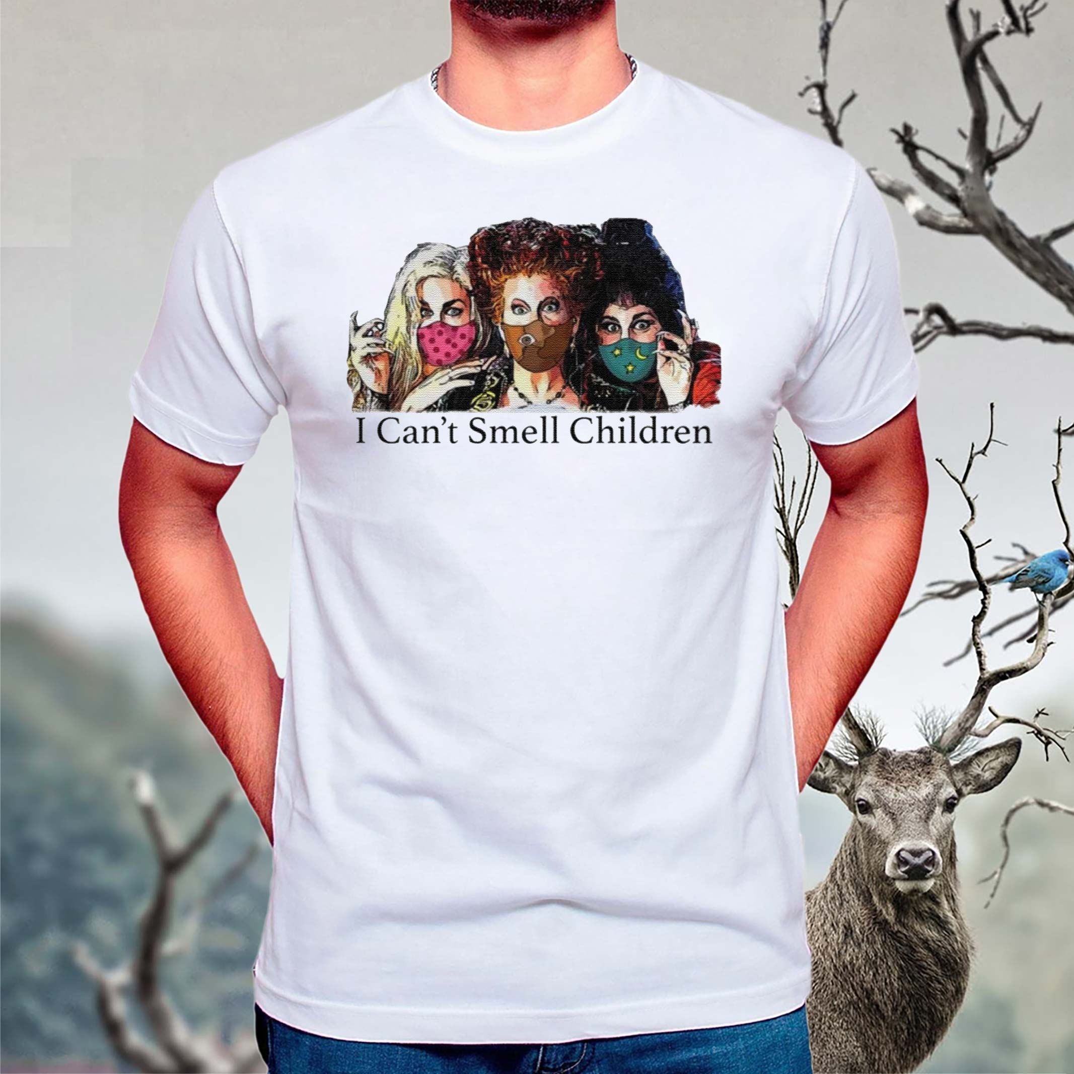 Hocus-Pocus-I-can't-smell-children-tshirts