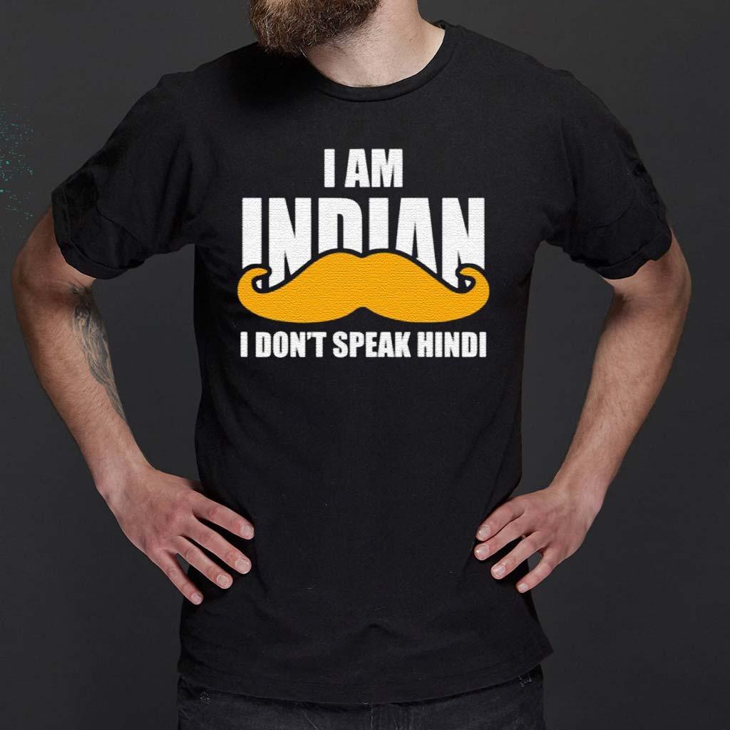 I-Am-Indian-I-Don't-peak-Hindi-Shirt