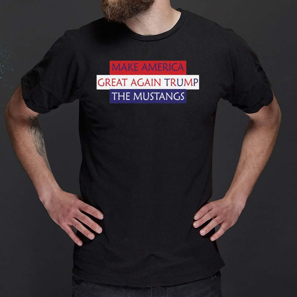 Make-America-Great-Again-Trump-The-Mustangs-shirt