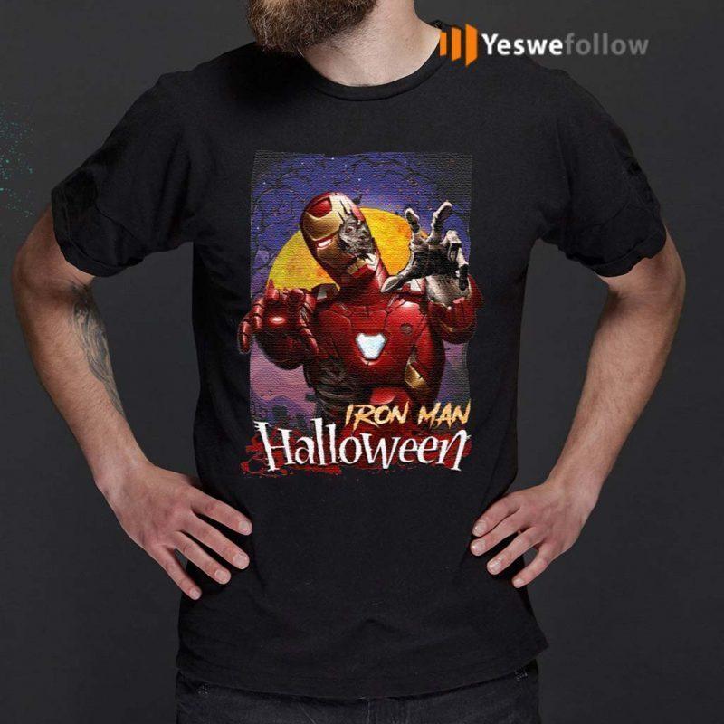 Marvel-Horror-Zombie-Iron-Man-Halloween-T-Shirt