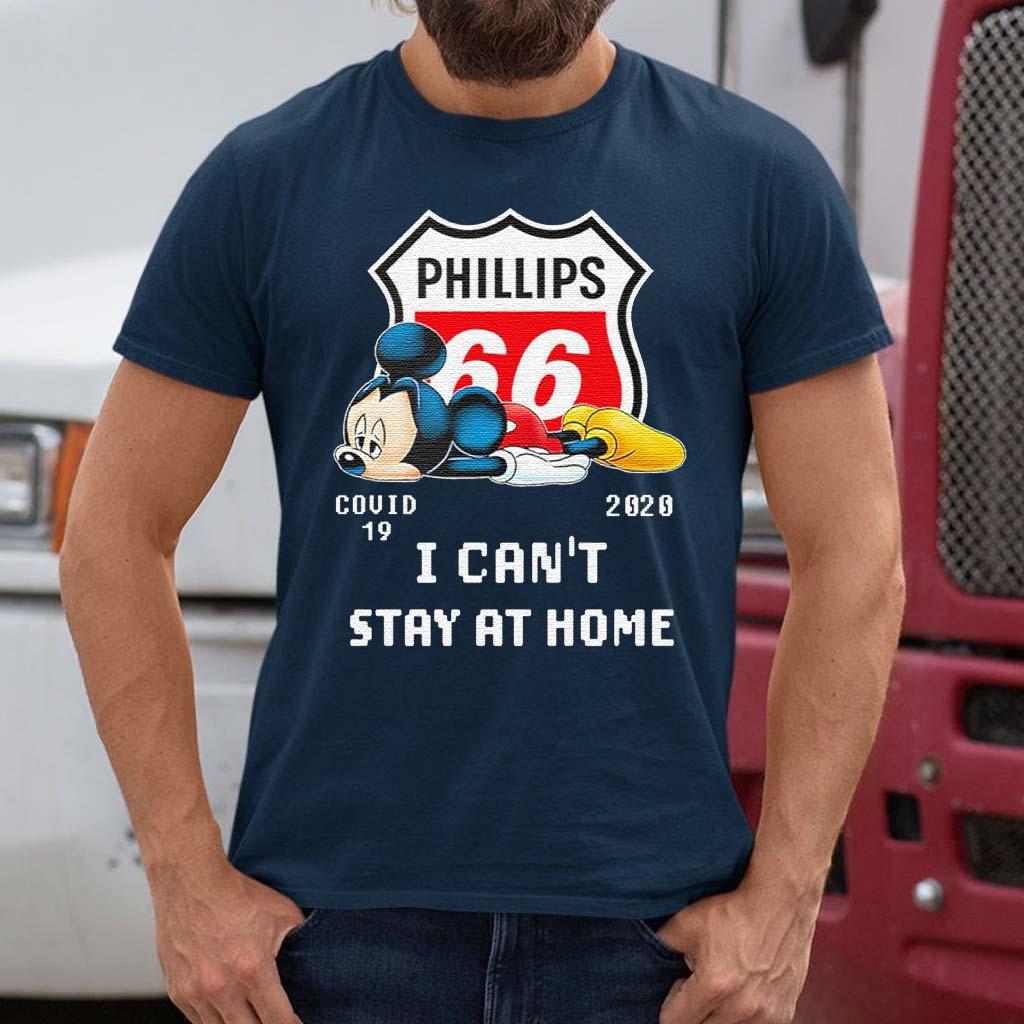 Mickey-mouse-sad-Phillips-66-covid-19-2020-T-Shirt