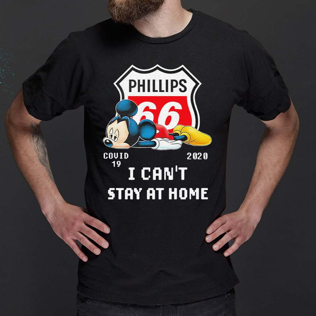 Mickey-mouse-sad-Phillips-66-covid-19-2020-T-Shirts