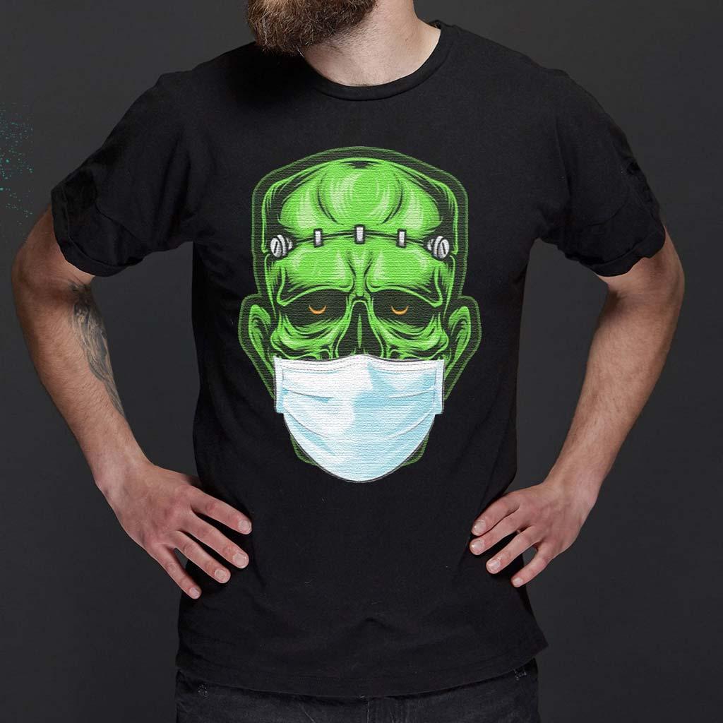 Monster-Zombie-Mask-Halloween-Shirts