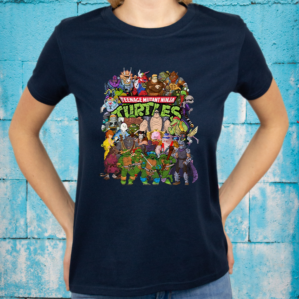 Ninja Turtles GaloreSlim Fit T-Shirt