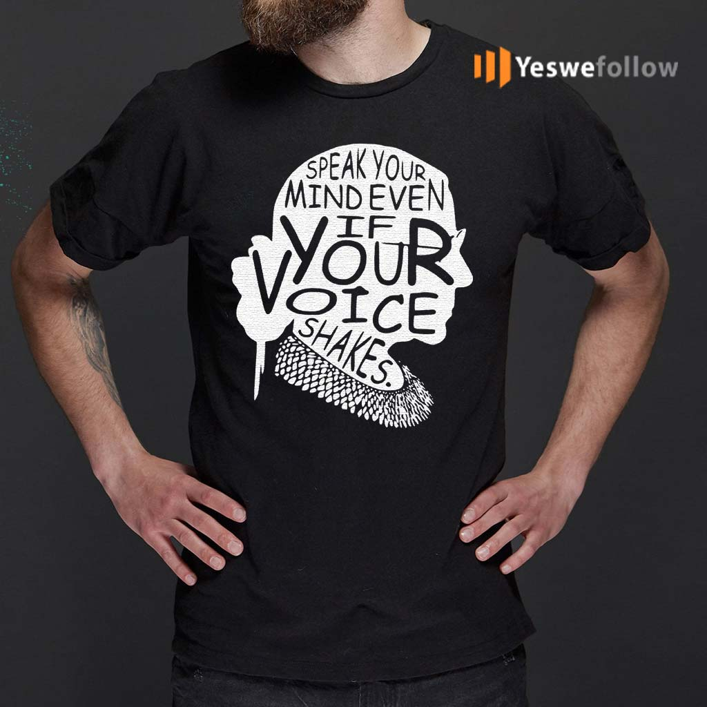 Notorious-rbg-shirt-speak-your-mind-even-if-your-voice-shakes-classic-shirt
