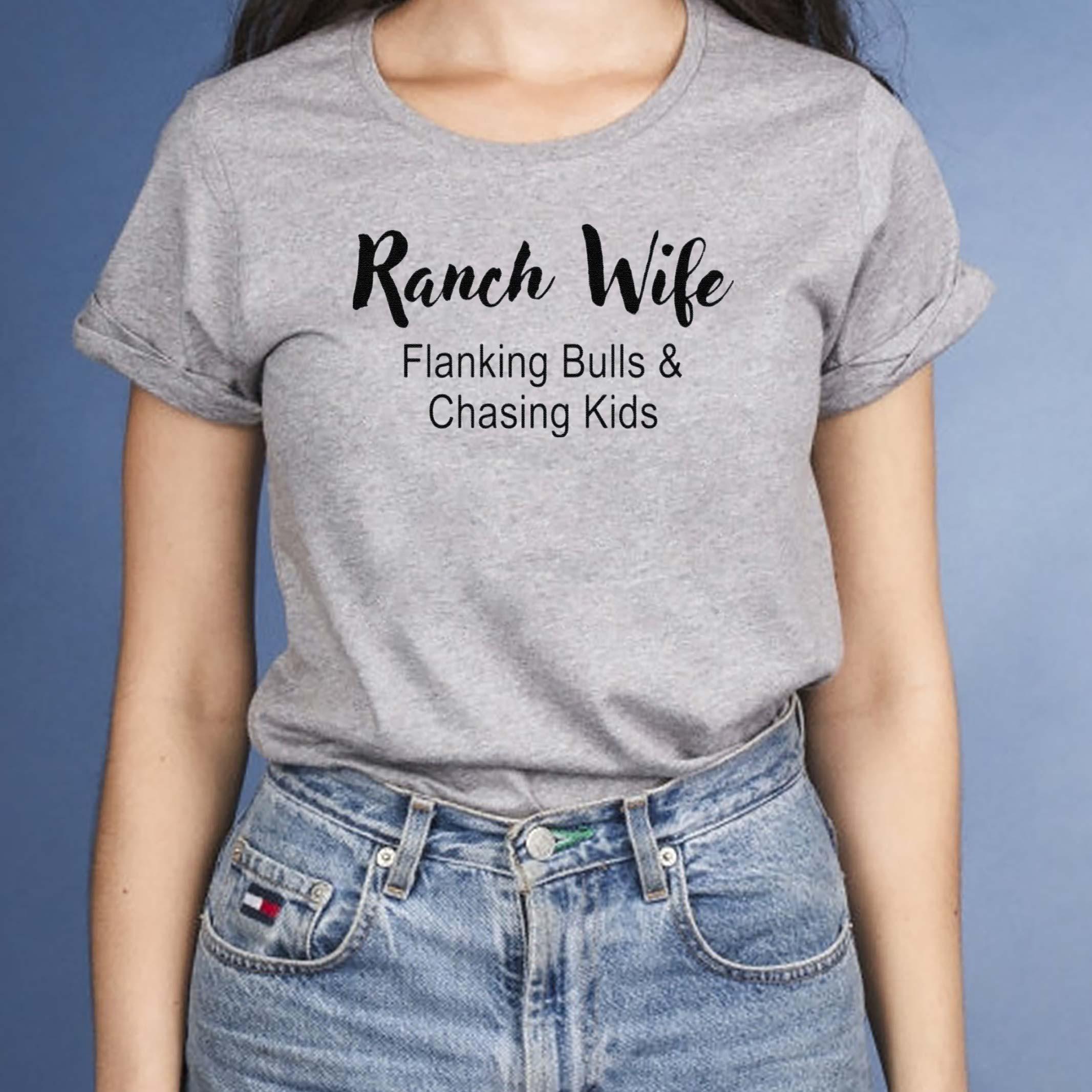 Ranch-Wife-Flanking-Bulls-Chasing-Kids-shirts