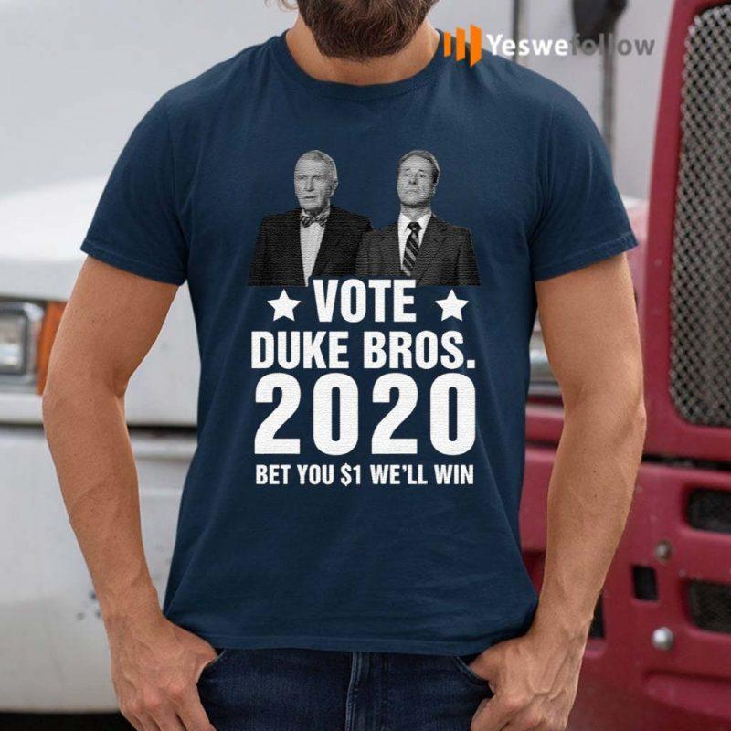 Randolph-And-Mortimer-Duke-Vote-Duke-Bros-2020-Shirt
