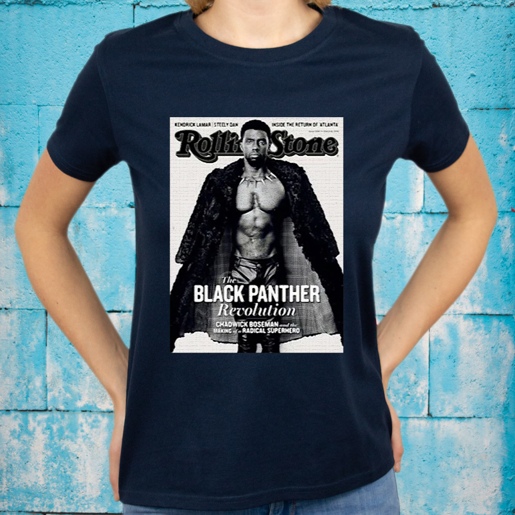 Rolling stone the black panther revolution making of a radical superhero T-Shirts