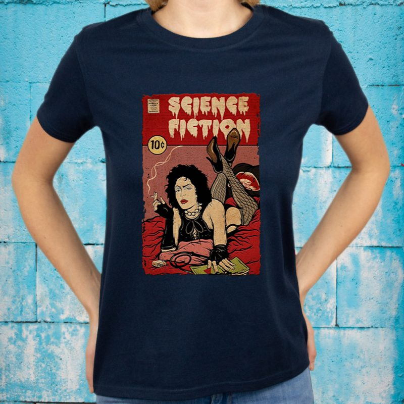 Science Fiction The Rocky Horror Picture Show T-Shirts