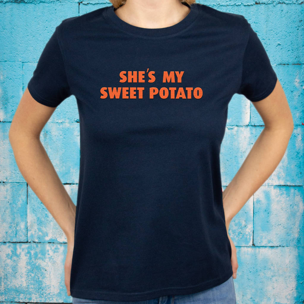 Shes My Sweet Potato Shirt Relationship Goals T-Shirt