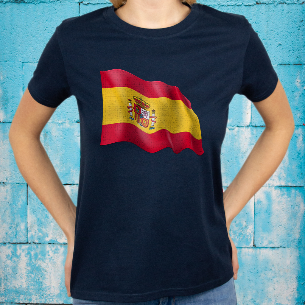 Spanish Flag T-Shirts