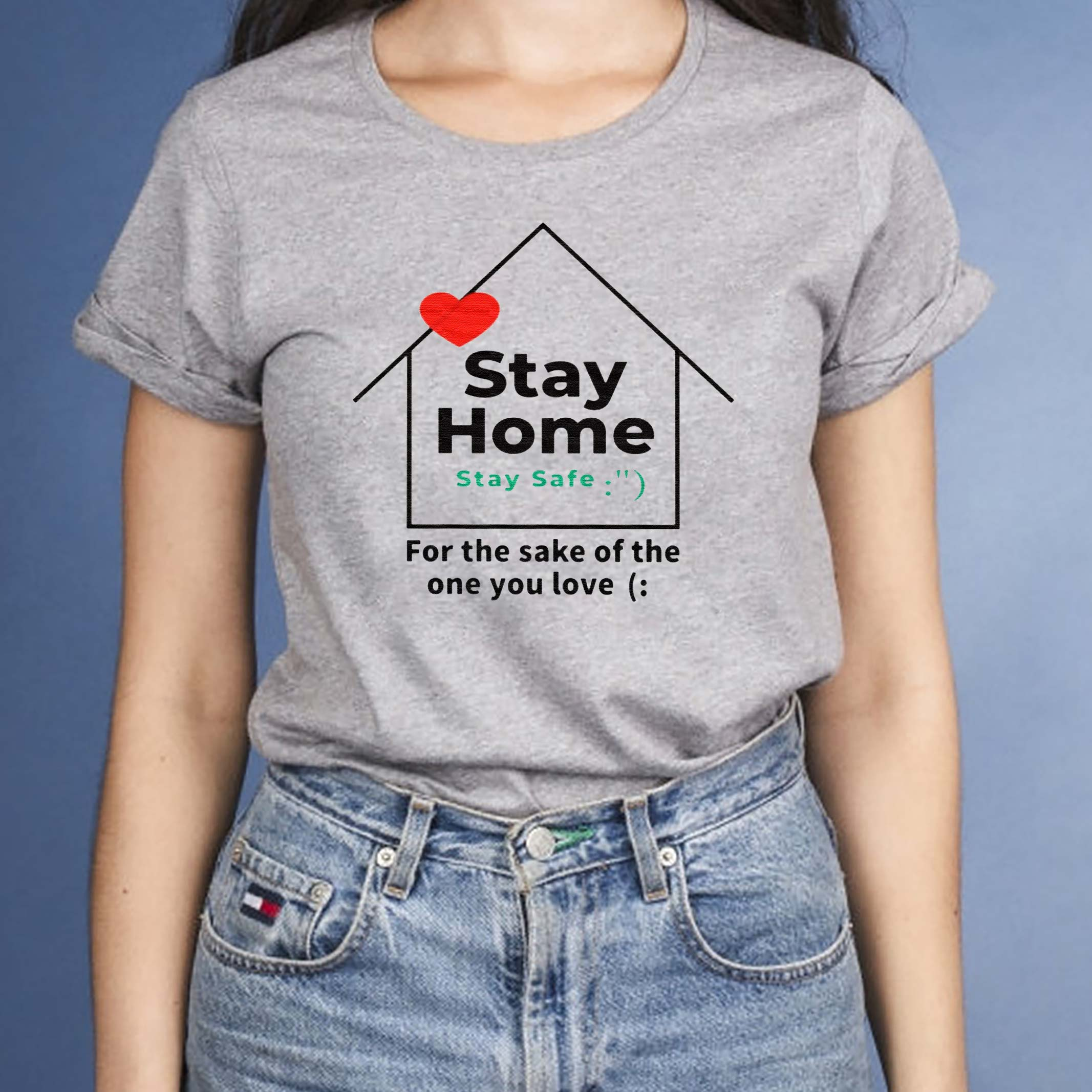 Stay-home-in-a-tshirt