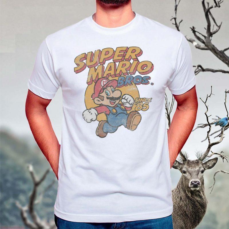 Super-Mario-Bros-Since-'85-Vintage-shirts