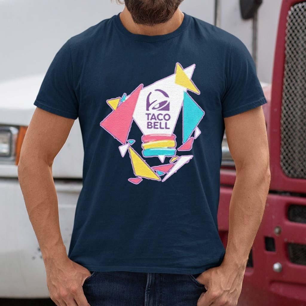 Taco-Bell-Confetti-Logo-Adult-T-Shirt