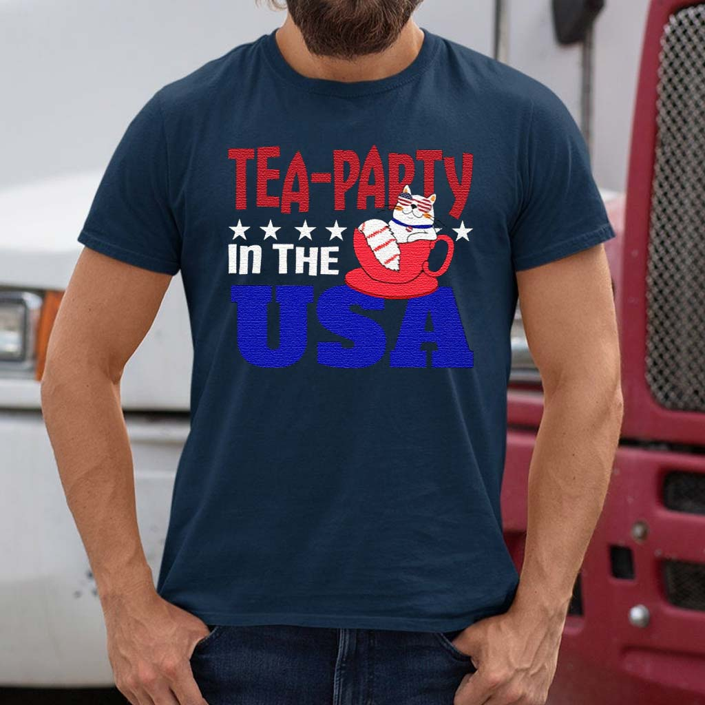 Tea-party-In-The-USA-t-shirt