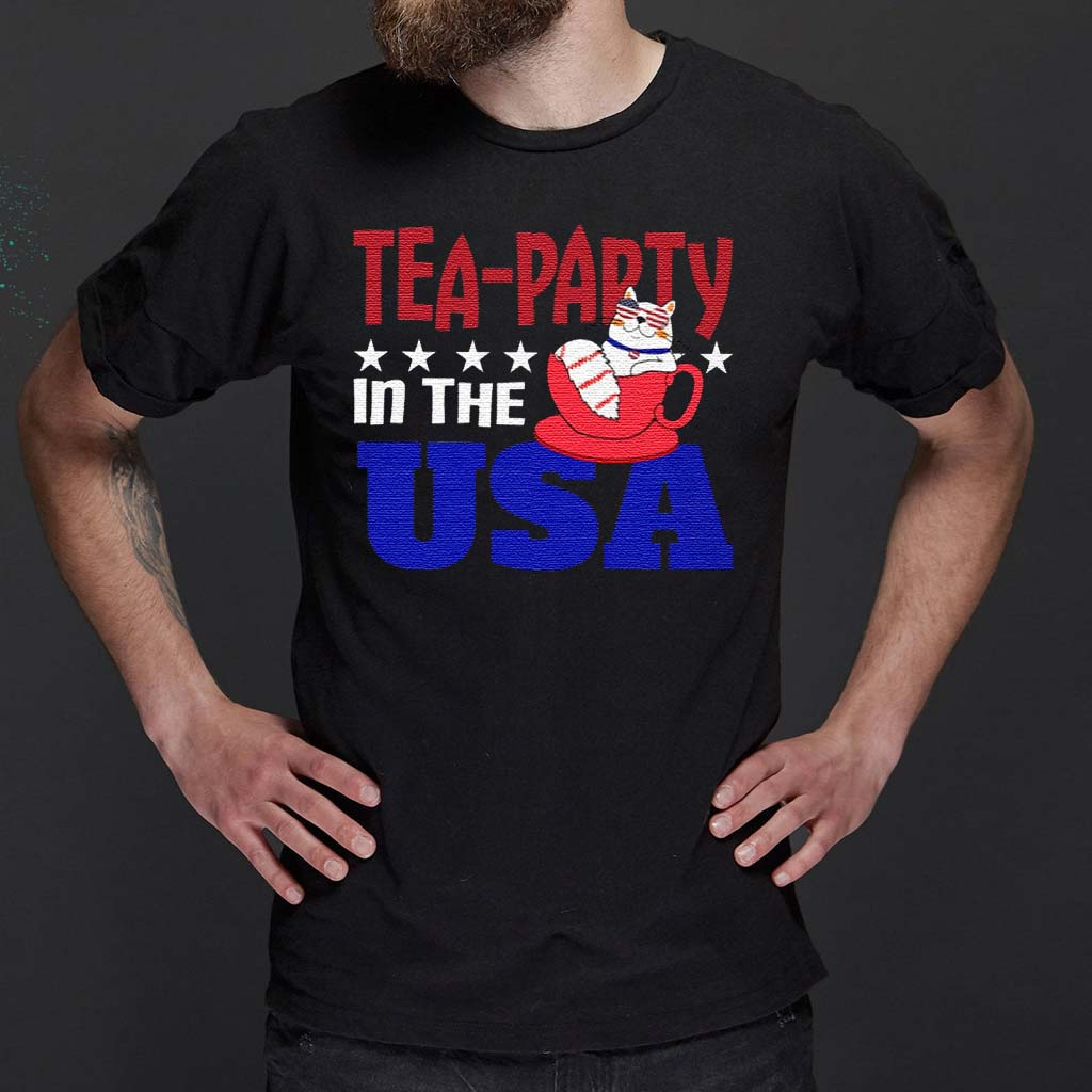 Tea-party-In-The-USA-t-shirts