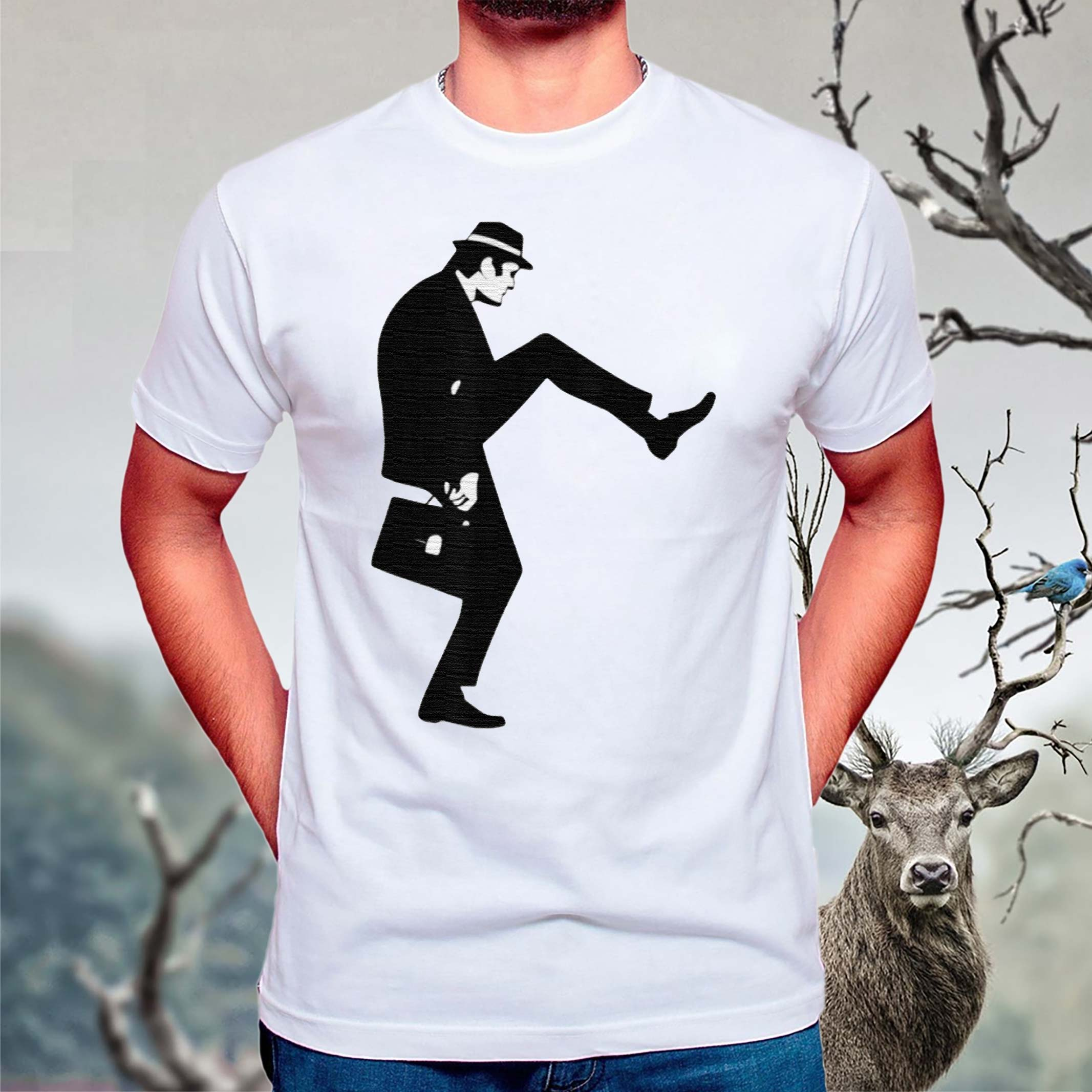 The-Ministry-of-Silly-Walks-T-Shirt
