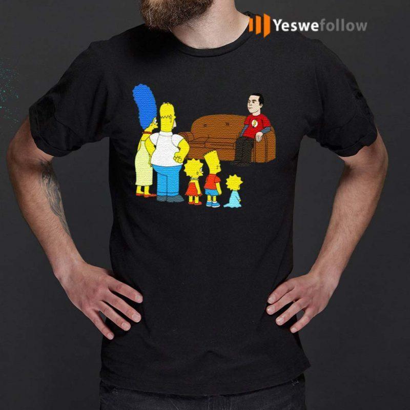 The-Simpsons-Sheldon-Cooper-Shirts