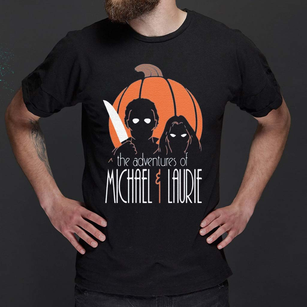 The-adventures-of-Michael-and-Laurie-shirt