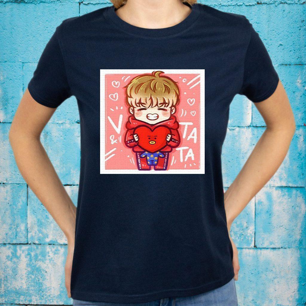 V and Tata T-Shirts