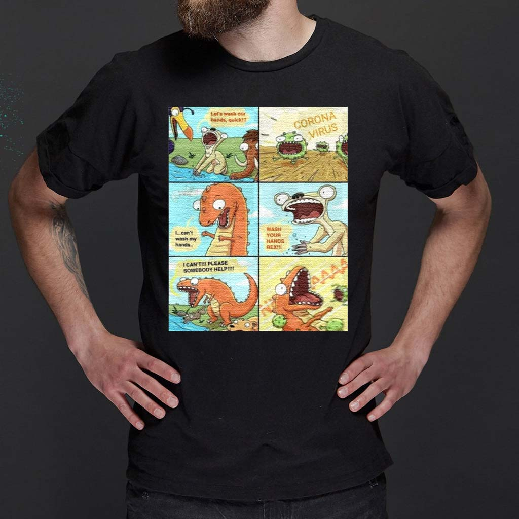 Wash-Your-Hands-Rex-Tiktok-T-Shirt