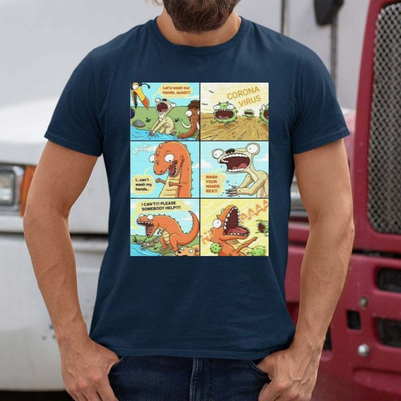 Wash-Your-Hands-Rex-Tiktok-T-Shirts